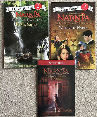The Lion, Witch and Wardrobe: Narnia Prince Caspian I Can Read Book Lot Level 2