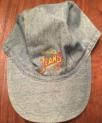 Gianni Versace Jeans Profumi Velcro Cap Made In Italy 100% Cotton