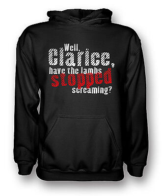 - Have the lambs stopped screaming? - - The Silence of the Lambs - Mens Hoodie