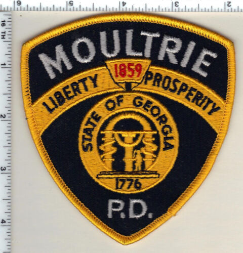 Moultrie Police (Georgia)  Shoulder Patch - new from 1990