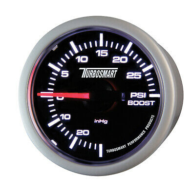 Turbosmart Illuminated Boost Gauge 0-30 psi - 52mm - Universal kit
