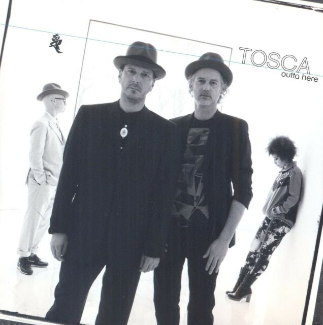 TOSCA - OUTTA HERE  CD NEU
