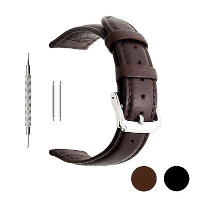 18Mm 20Mm 22Mm Calf Leather Watch Band  Extra Soft Watch Strap For Men Women
