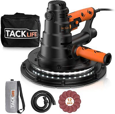Drywall Sander Tacklife 800w Electric Drywall Sander With Automatic Vacuum Dust