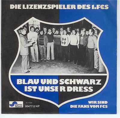 Single Schallplatte - 1.FC SAARBRÜCKEN Bundesliga 1976 - sehr selten