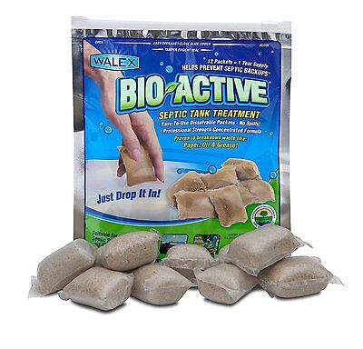 Bio-Active Septic Tank Treatment, 1 Year Supply