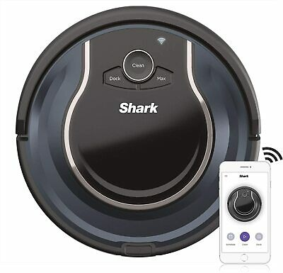 Shark ION ROBOT App-Controlled Robot Vacuum, RV761 - Black / Navy Blue