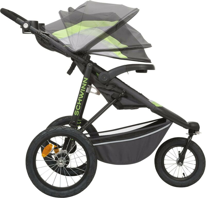 Brand New - Schwinn Interval Jogging Stroller, Green