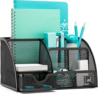 Mindspace Office Desk Organizer With 6 Compartments Drawer Pen Pencil Hold