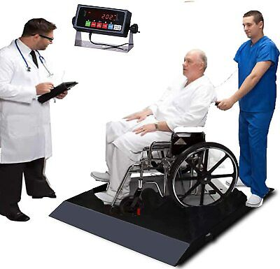 Wheelchair Scale Ultra Portable Weight Wheelchair Scale With Ramp 700x0.1lb