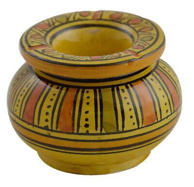 - Ceramic Ashtray Moroccan Outdoor Smokeless Cigar Patio Garden Ashtrays Medium