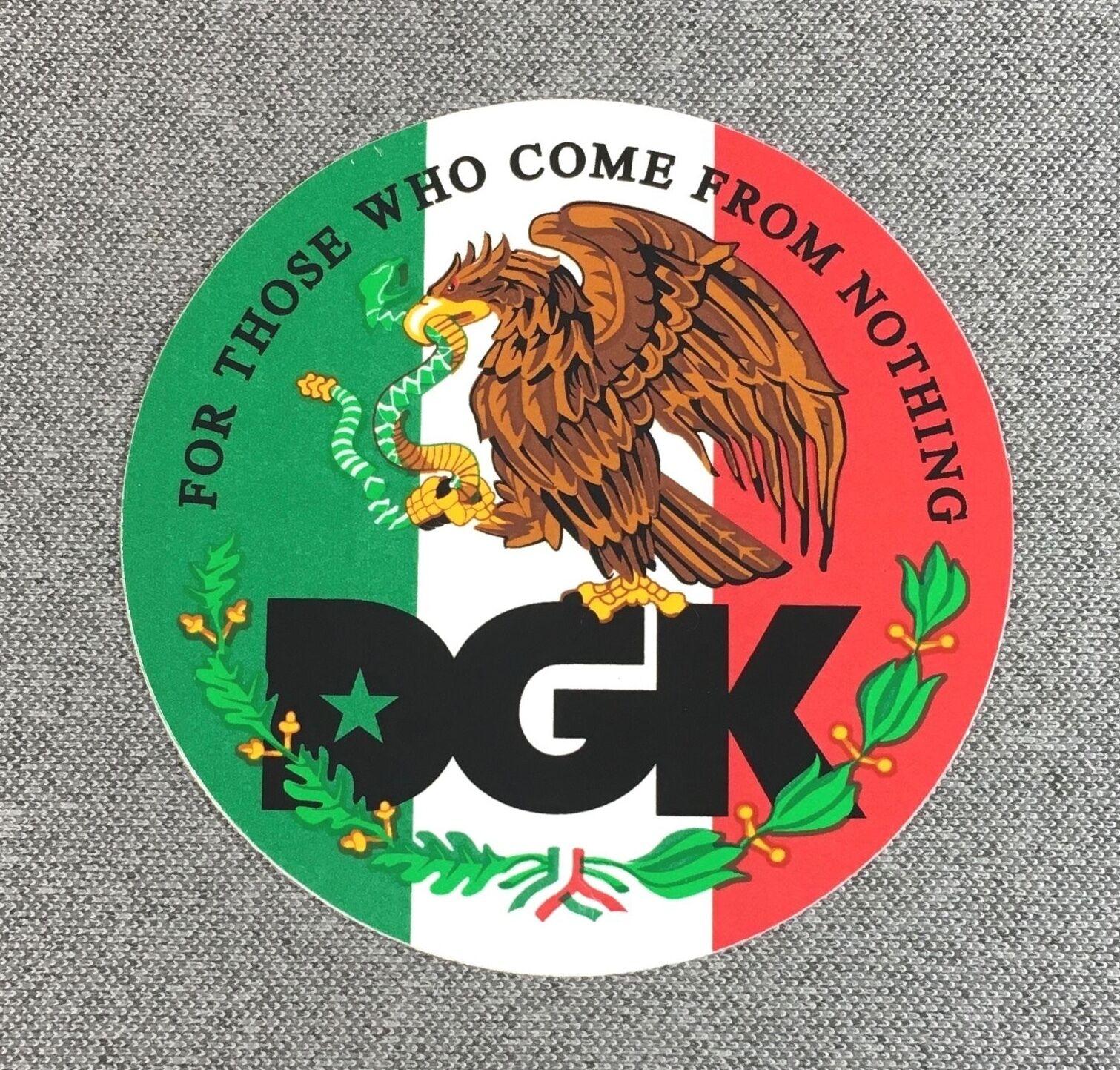 DGK La Familia Skateboard Sticker 3.5in si