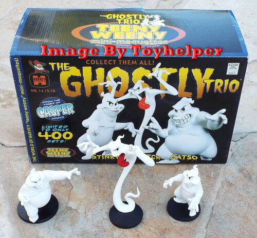 Teeny Weeny Electric Tiki The Ghostly Trio Stinky Stretch Fatso Maquette Statue