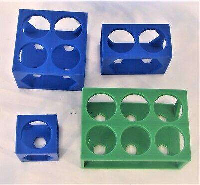 Plastic Rack Stand For 50 Ml 30 Mm Jumbo Test Tube Centrifuge Tubes Lab Bench