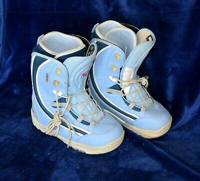Roxy Quiksilver Polara Women's Snowboard Boots - sz 7 1/2