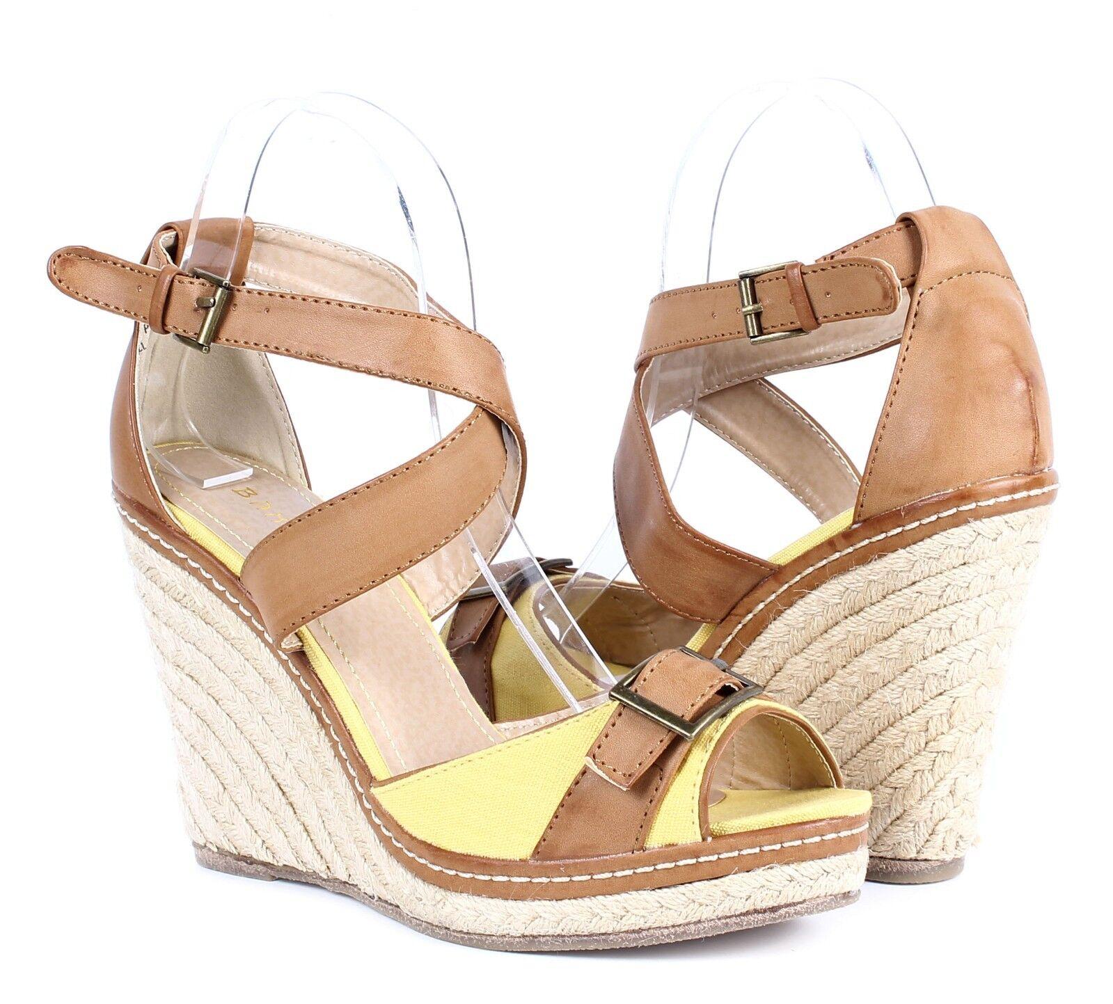 ac821d0f5fca Lemon nn Buckles Summer Cross Strap High Heel Womens Wedges Sandals ...