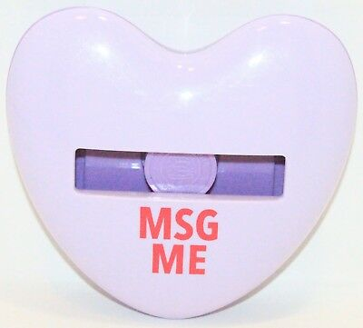 Msg Me Post-it Heart Shape - Imprint 3m Dispenser Holder For 3x3 Note Pads Hd330
