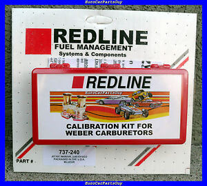 WEBER-Redline-40-44-45-DCOE-IDF-Dual-Carburetor-Carb-Jetting-Jet-Pack-Kit-NEW