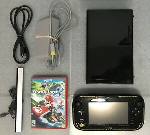 32Gb Wii U_Legend of Zelda Edition + 3 games