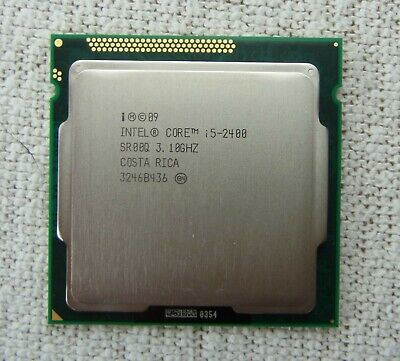 Intel Core i5 3.1 GHZ i5-2400 SR00Q V26808-B8522-V10 34032060 LGA 1155 + NEW +