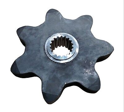 7 Tooth Drive Sprocket 437502 Fits A Asteccase Tf300 Rubber Track Trencher
