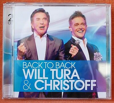WILL TURA & CHRISTOFF - BACK TO BACK  --  !!! DUBBEL  CD !!!