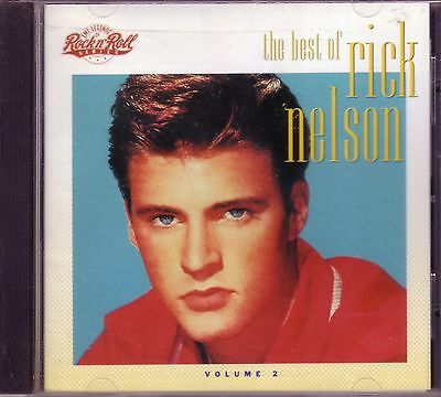 EMI Legends Rock Roll RICK NELSON Best Vol 2 CD TEENAGE IDOL LUCKY STAR