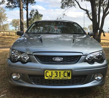 2003 FORD XR8 BOSS 260 SELL OR SWAP