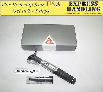 Heine Mini 3000 Led F.o. Otoscope With Aa Handle D-008.70.110 Free Shipping