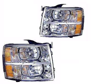 TIFFIN ALLEGRO 2013 2014 2015 PAIR HEADLIGHT HEAD LIGHT FRONT LAMP RV - SET