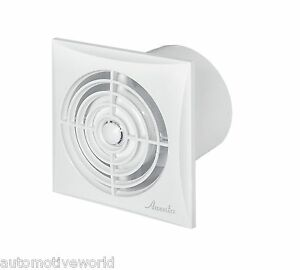 Silent bathroom extractor fan 125mm 5 timer humidity sensor low noise wz125h ebay Humidity activated bathroom fan