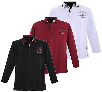 7 Sweatshirt (LAVECCHIA Sweatshirt 3XL 4XL 5XL 6XL 7XL 8XL Shirt Lang Schwarz Weiss Rot