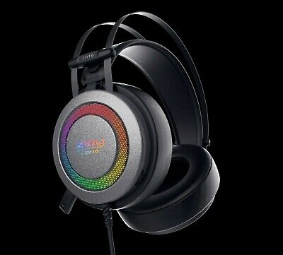 Rainbow Lights Gaming Headset ZIDLI ZH16 for PS4/PC
