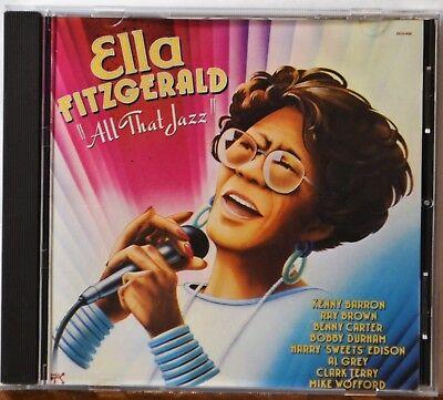 CD Ella Fitzgerald All That Jazz Jersey Bounce Dream a Little of Me  NICE (Dream A Little Dream Of Me Ella)