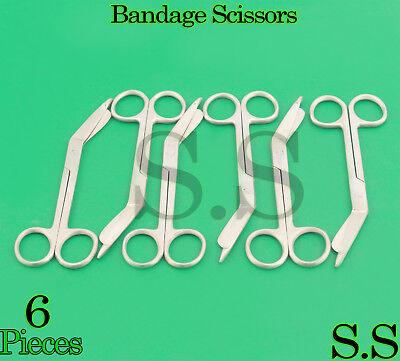6 Lister Bandage Scissors 5.5 Surgical Medical Instruments Nurse Emt Rescue