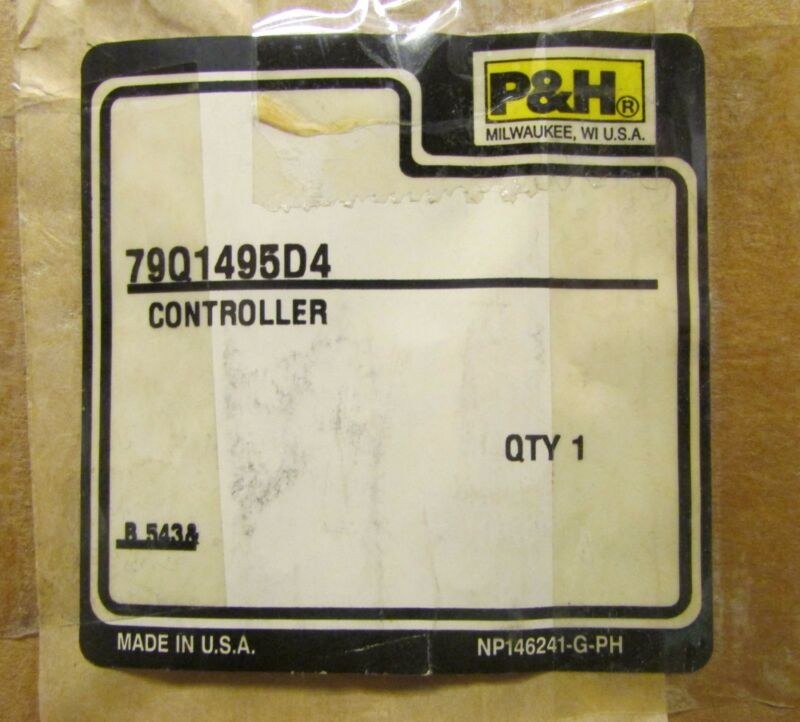 P&H 79Q1495D4 GENERAL ELECTRIC GE CR305B002AAKA Size 0 Contactor 120V