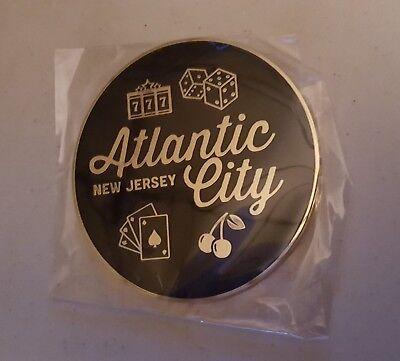 New Total Rewards Atlantic City Coaster Set Seven Stars Gambling Dice Drink Card