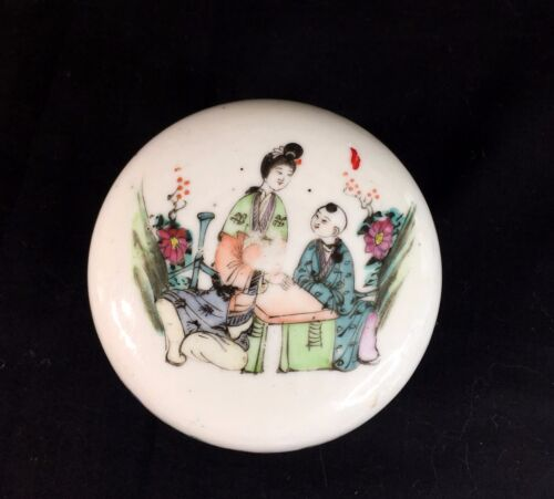 Antique Chinese Porcelain Lady