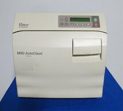 Midmark Ritter M9 M9d M9d-022 Autoclave Steam Automatic Sterilizer - 2298 Cycles