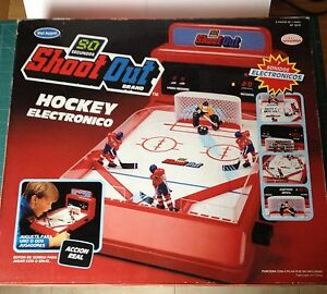 SHOOT-OUT-HOCKEY-ELECTRONICO-BIZAK-ANOS-80-VER-FOTO