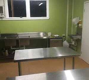 Commercial kitchen fully fitted for rent/ hire St Lucia Brisbane South West Preview
