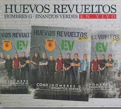 Huevos Revueltos NEW Hombres G. Enanitos Verdes En Vivo 2 CD's / 1 DVD