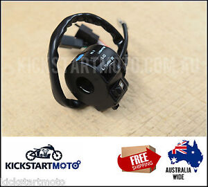 LEFT HAND SWITCH ASSEMBLY BLOCK | XR650R 2000 to 2006 XR600R 2000 Honda