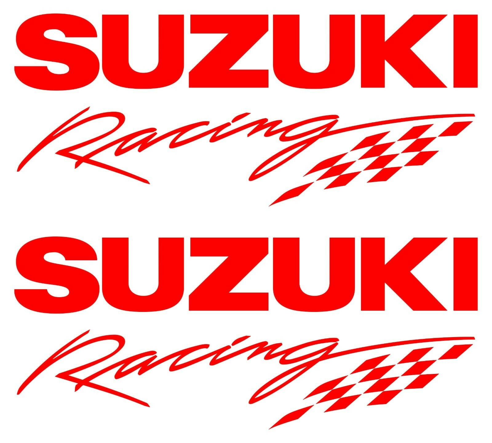 Suzuki Racing Logo 200 Mm Si 026 Ebay
