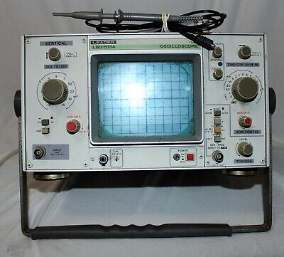 Leader Electronics Oscilloscope Lbo-513a Lbo 513a Tested Working New Probe