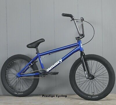 FLY Proton forks Candy Blue 10mm cromo 4130 bmx custom profile new federal