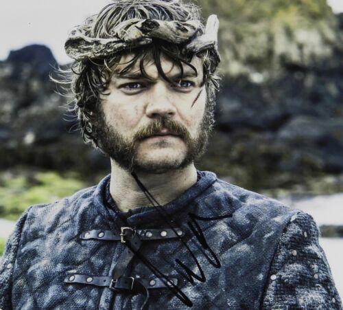 Pilou Asbaek Game Of Thrones Signed Autograph JSA COA 8 x 10