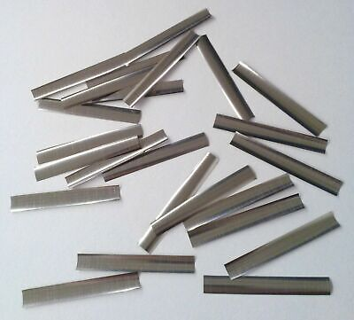 25 Pieces Locksmith Curved Stainless Steel Shim Stock For Repinning And Rekeying