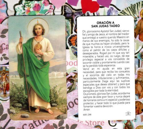 San Judas - Oracion A San Judas Tadeo - Spanish  - Paperstock Holy Card
