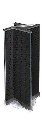 New Neon Black Pegboard Pinwheel Unit On Plastic Revolving Base 13.5 W X 44 H